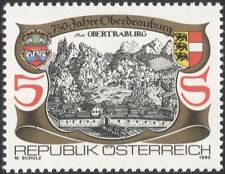 Austrian Architecture Postal Stamps
