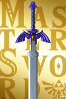 Legend of Zelda Master Sword Video Gaming Poster 12x18 Inch