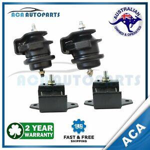 Fit Nissan Patrol GU Y61 ZD30 3.0L Front Engine Mount + Gearbox Mount Set 00-16