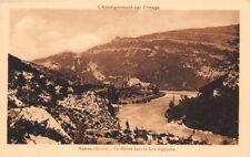 YENNE - le Rhône dans le Jura Bugeysien-  L'ENSEIGNEMENT PAR L'IMAGE