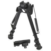 "CCOP USA 12"" Tactical Rifle Bipod Adjustable Spring Return Free Adapter BP-79M"