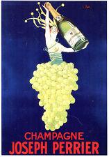 CPP119 CARTE POSTALE publicité CHAMPAGNE JOSEPH PERRIER par J. Stall