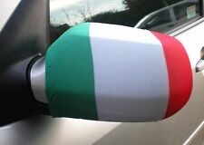 CAR WING MIRROR SOCKS FLAGS, COVERS, FLAG-UPS! - ITALY ITALIA