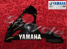 05 Yamaha R6 RAVEN Black Left Side Lower Fairing 2005 NEW but has Scuffs