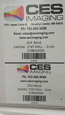 """2 Rolls 24""""x500' Bond Plotter Paper KIP OCE Xerox Ricoh"""