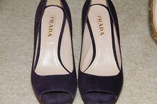 Authentic Prada Shoes Brown/Purple - Size 36 1/2