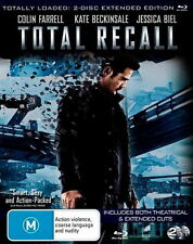 Total Recall (2 Disc Extended Edition) - NEW Blu-Ray