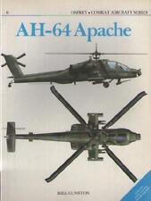 Livre Book AH-64 Apache - Bill Gunston MARINE NAVY AVIATION HELICOPTERE COMBAT