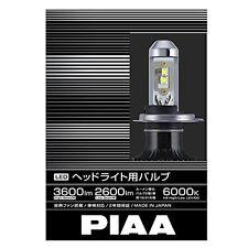 PIAA headlight LED H4 6000K 3600lm LEH100 New Free Shipping from Japan (1000)