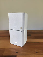 BOSE WHITE DOUBLE CUBE ACOUSTIMASS 5 10 15 LIFESTYLE SPEAKER