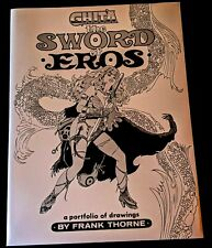 Frank Thorne GHITA THE SWORD OF EROS 22/1500 SIGNED Portfolio Blackthorne Pub