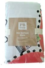 POTTERY BARN Ana Applique Standard Sham NEW Tags Teen 6950398 BEAUTIFUL