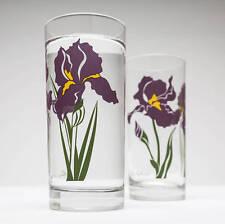 Iris Drinking Glasses - Set of 2 Everyday Water Glasses