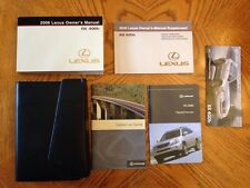 2012 Lexus RX400h Owners Manual Stock #105