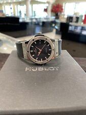 Hublot Classic Fusion Titanium Automatic Watch Excellent Condition