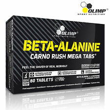 BETA-ALANINE 80 Tablets Pre-Workout Booster Endurance Stamina Resistance Energy