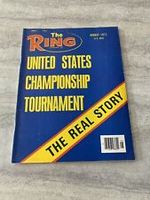 The Ring Boxing Magazine ~ August 1977 ~ United States Championship Tournament