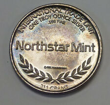 {BJSTAMPS}  NORTHSTAR MINT Let Freedom Ring 1 ozt. .999 SILVER Rainbow toning