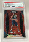 2017-18 Panini Prizm Ruby Wave Donovan Mitchell Rookie Card #117 PSA 9. rookie card picture