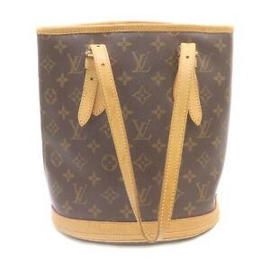 Louis Vuitton LV Tote Bag Bucket PM M42238 Browns Monogram 2001458