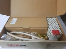 DELTA 3583-CBLHP  Two Handle Widespread chrome   brass c-spout LESS HANDLES