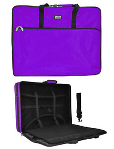 Purple Tutto Embroidery Project Extra Large Bag