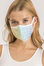 Knitted Face Cover Bright Color(Sublimation print) for Ladies/Girls