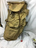 Vintage Boy Scouts of America BSA Hiking Canvas Frame Backpack National Council