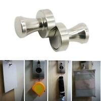 Creative Magnetic Coat Hooks Knobs Neodymium Storage Hook Holder Hanger Z6O7