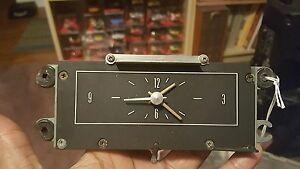 Lincoln continental clock 1965