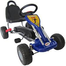 Kiddo 2017 Classic Design Blue Kids Childrens Pedal Go-Kart Ride-On Car - New