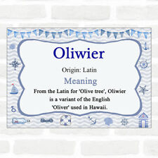 Oliwier Name Meaning Nautical Certificate
