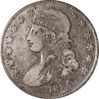 1834 Bust Half Dollar - O-114 R.1 , Small Date - Small Letters Great Deals From