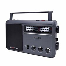 C. Crane CCRadio EP PRO AM FM Battery Operated Portable Analog Radio with DSP