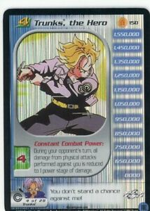 DBZ CCG Near Complete LIMITED Trunks Saga: Includes #150 Trunks, the Hero FOIL