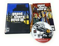Playstation 2 PS2 Grand Theft Auto III GTA 3 Complete w/ Case Manual Map Tested