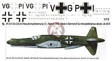 Peddinghaus 1/72 Dornier Do 335 A-0 Pfeil Prototype Markings Rechlin 1945 2131
