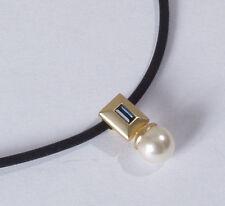 Markenlose Modeschmuck-Halsketten & -Anhänger aus Legierung mit Baguette