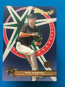 2001 Topps Stars Gold /499 Ryan Anderson #154