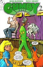 GUMBY Art Clokey SIGNED Autographed #2 VARIANT Comic + FREE COMIC