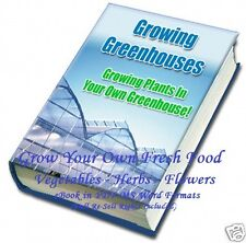 CD - Greenhouse - Grow Your Own Food - eBook (Re-Sell Rights)