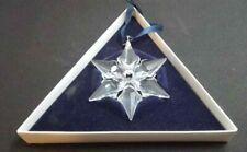Swarovski 2000 Annual Edition Christmas Star Ornament