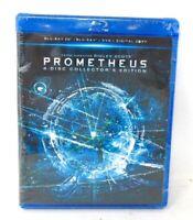 Prometheus (Blu-ray 3D+Blu-ray+DVD+Digital) (4 Discs Collection) - Brand New