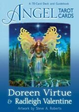 Angel Tarot Cards by Radleigh Valentine - 78 Card Deck and Guidebook