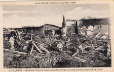 VILLEMUR 1930 inondations 2 quartier saint-jean éd bouzin