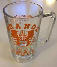 Vintage Denver Broncos Orange Crush 1977 Divisional Champions Beer Mug