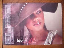 More details for alicia keys tour programme 2002 tourbook