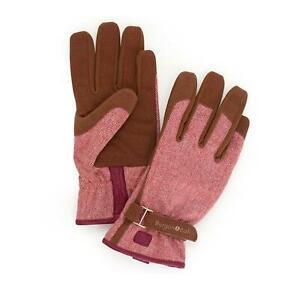 Burgon & Ball Love The Glove - Red Tweed M/L