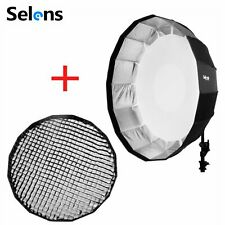 "Selens 41"" / 105cm Beauty Dish Softbox with Bowens & Grid Mount for Studio Flash"
