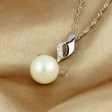 Pendant  Pearl 925 Sterling Silver #PE100840 present top sales gift love